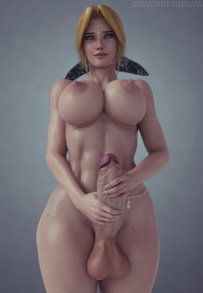 big tit 3d futanari